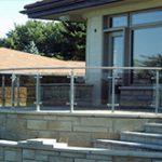نرده استیل ساختمانی