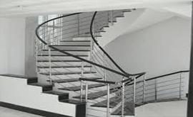 نرده راه پله استیل مدرن
