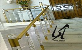 فروش و نصب نرده استیل در استان گلستان