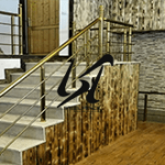 عرضه نرده استیل مدرن ساختمانی