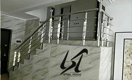 شرکت فروش نرده استیل عمودی ساختمان
