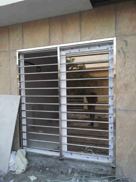 نرده استیل پنجره با قیمت مناسب