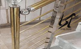 عرضه نرده استیل ضد زنگ لوکس در ارومیه