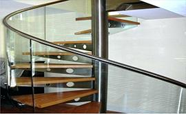 عرضه نرده استیل شیشه ای در آبادان