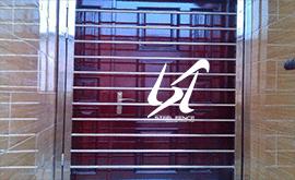 فروش نرده استیل درب بانکی زنجان