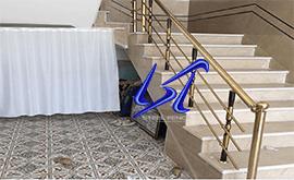 قیمت خرید نرده استیل مدرن شیشه ای زنجان
