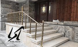 قیمت نرده استیل نما ساختمانی مازندران